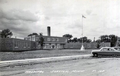 Hospital, Slayton Minnesota, 1950's