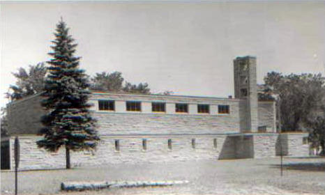St. Ann's Catholic Church, Slayton Minnesota, 1950's