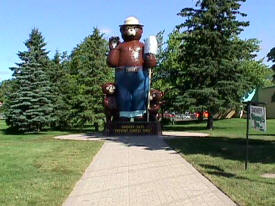 Smokey Bear Park, International Falls Minnesota