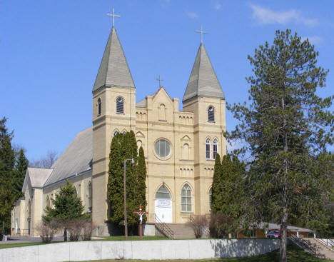 St. Stanislaus Catholic Church, Sobieski Minnesota, 2009