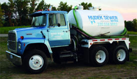 Hudek Sewer Service, South Haven Minnesota