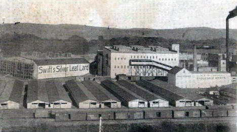 Swift's & McCormack's Packing Plants, South Saint Paul Minnesota, 1911