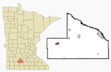 Location of Springfield, Minnesota