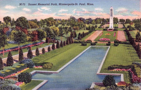 Sunset Memorial Park, St. Anthony Minnesota, 1939