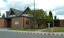 St. Cecilia's Catholic Church, Nashwauk Minnesota