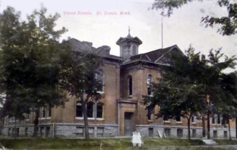 Union School, St. Cloud Minnesota, 1908