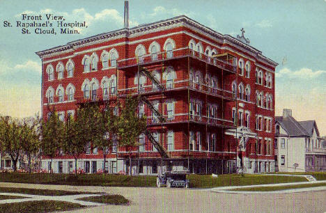 St. Raphael's Hospital, St. Cloud Minnesota, 1910's?