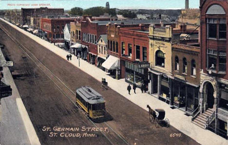 St. Germain Street, St. Cloud Minnesota, 1910's?