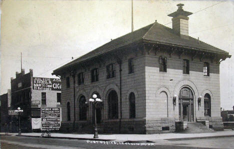 Post Office, St. Cloud Minnesota, 1915