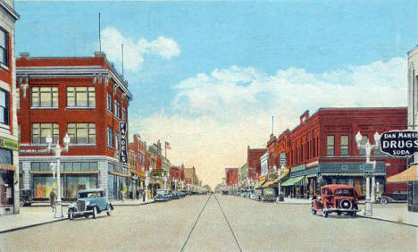 St. Germain Street, St. Cloud Minnesota, 1935