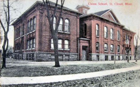 Union School, St. Cloud Minnesota, 1911
