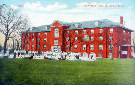 Lawrence Hall, St. Cloud Minnesota, 1910
