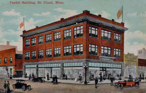 Fandel Building, St. Cloud Minnesota, 1910's