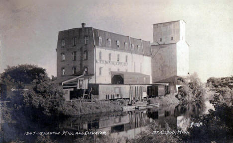 Tileston Mill and Elevator, St. Cloud Minnesota, 1909