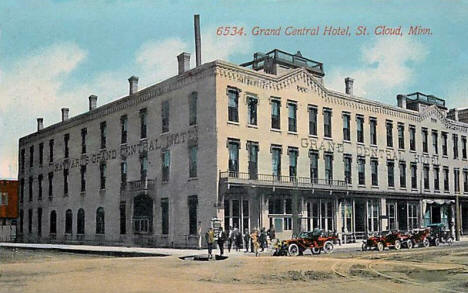 Grand Central Hotel, St. Cloud Minnesota, 1914