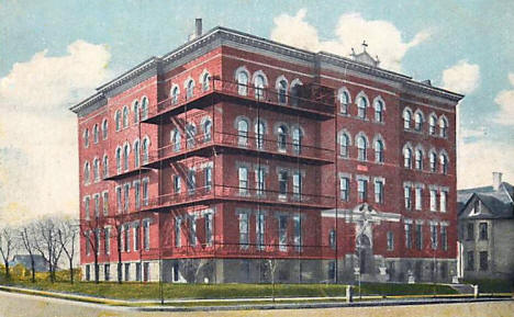 St. Raphael's Hospital, St. Cloud Minnesota, 1921