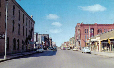 Looking West on St. Germain Street St. Cloud Minnesota