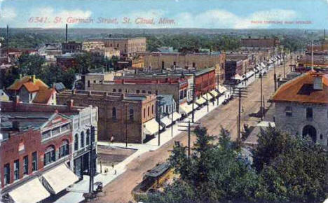 St. Germain Street, St. Cloud Minnesota, 1916