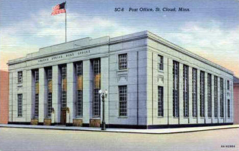 Post Office, St. Cloud Minnesota, 1938