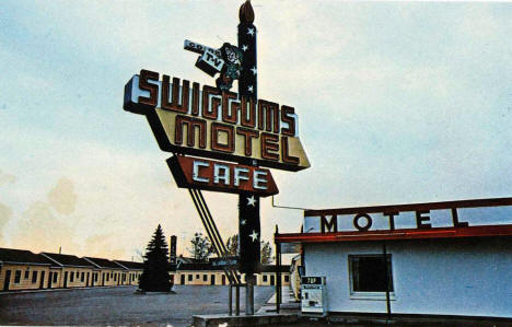 Swiggum's Motel, St. Cloud Minnesota, 1960's