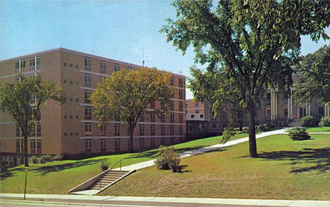Shoemaker Residence Hall, St. Cloud State University, 1960's