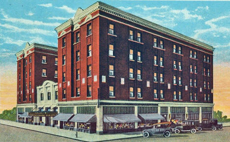 Breen Hotel, St. Cloud Minnesota, 1925