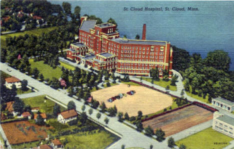 St. Cloud Hospital, St. Cloud Minnesota, 1944