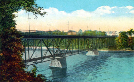 St. Germain Street Bridge, St. Cloud Minnesota, 1922
