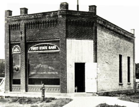 First State Bank of St. Joseph Minnesota, 1900's