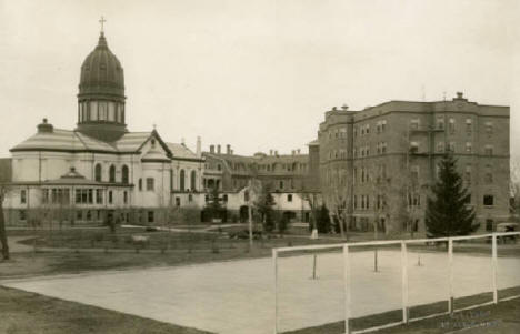 St. Benedict College and Academy, St. Joseph Minnesota, 1913