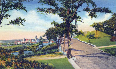 Indian Mounds Park, St. Paul Minnesota, 1936