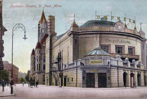 Orpheum Theatre, St. Paul Minnesota, 1908