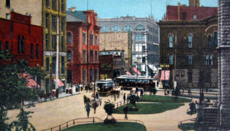 Courthouse Square, St. Paul Minnesota, 1907?