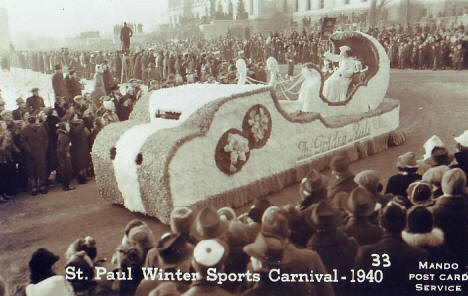 St. Paul Winter Sports Carnival, St. Paul Minnesota, 1940