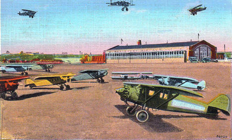 Holman Municipal Airport, St. Paul Minnesota, 1920's