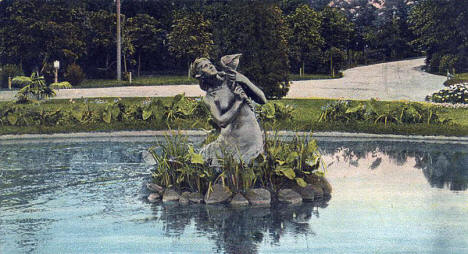 Shiffmann Fountain, Como Park, St. Paul Minnesota, 1900's