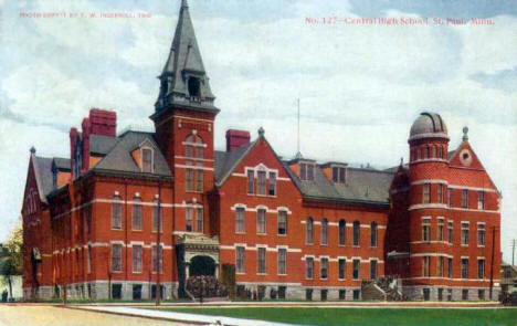 Central High School, St. Paul Minnesota, 1908