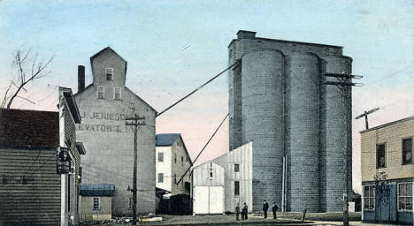 Jennison & Co's Mill and Elevators, St. Paul Minnesota, 1907