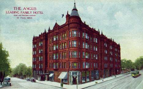 The Angus hotel, Selby and Western, St. Paul Minnesota, 1911