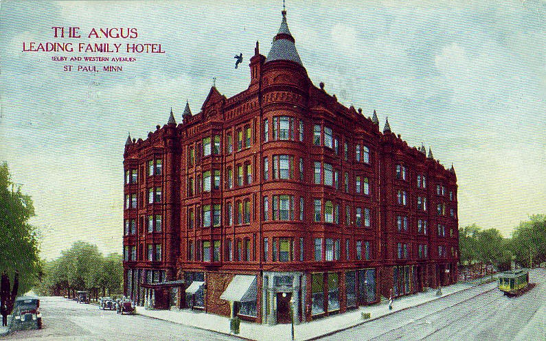 The Angus Hotel Selby And Western St Paul Minnesota 1911