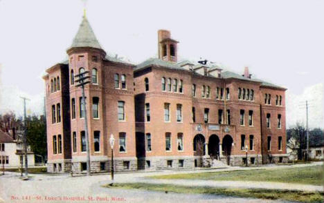 St. Luke's Hospital, St. Paul Minnesota, 1912