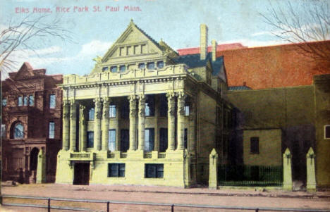 Elks Home, Rice Park, St. Paul Minnesota, 1910
