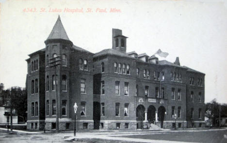 St. Luke's Hospital, St. Paul Minnesota, 1911