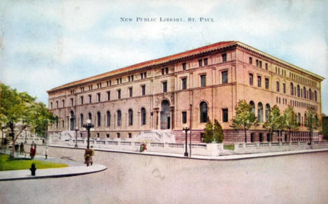 New Public Library, St. Paul Minnesota, 1920