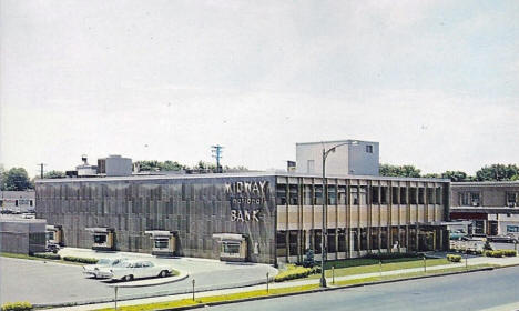 Midway National Bank, St. Paul Minnesota, early 1960's
