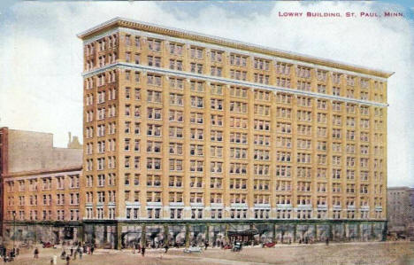 Lowry Building, St. Paul Minnesota, 1912