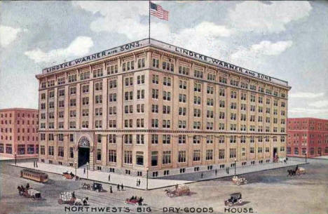 Lindeke Warner & Sons Dry Goods House, St. Paul Minnesota, 1914