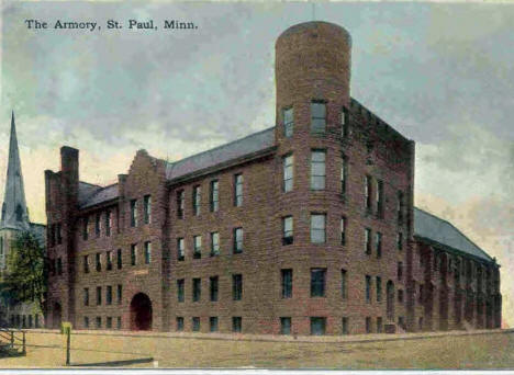 The Armory, St. Paul Minnesota, 1907