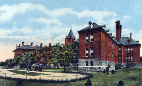 City Hospital, St. Paul Minnesota, 1915