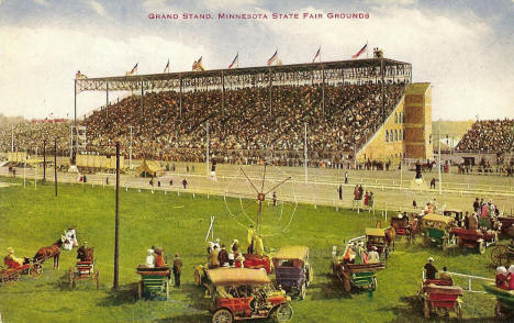 Grandstand, Minnesota State Fair Grounds, 1910's